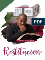 sermon Restitución
