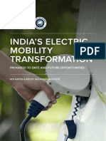 India's Electric Mobility Transformation