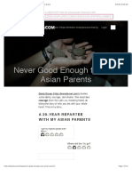 Never Good Enough for your Asian Parents | Guide to Grace