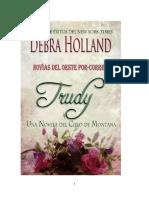 Debra Holland - Serie Novias Del Oeste Por Correo 01 - Trudy