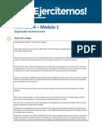 API 1 Sociedades