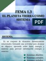 Tema 1.3 El Planeta Tierra Como Sistema