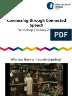 connected speech
