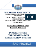 System Analysis and Design Project[1]