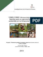 Libro Camu Camu