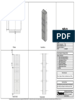 Columna 0.50 x 1.00 h= 3.60 m TEIDE