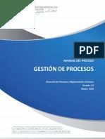 Manual de Prodeso - Gestión de Procesos