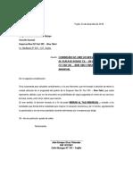 Carta Desafiliacion Para Migrar Taxi Individual