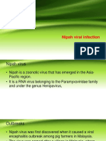 Nipah Viral Infection by Dr Gireesh Kumar KP