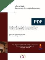 Estudio de la tecnología de comunicación por radiofrecuencia RFID y su implementación