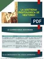 La Doctrina Cristologica de Nestorio