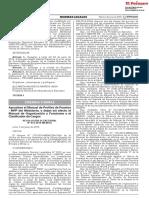 Aprueban el Manual de Perfiles de Puestos - MPP del Ministerio y dejan sin efecto el Manual de Organización y Funciones y el Clasificador de Cargos