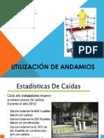 Utilización de Andamios