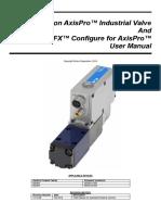 Eaton AxisPro Servo-Performance Directional Valve User Manual