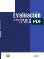 Manual de Evaluación