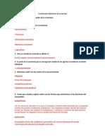 Cuestionario Elementos de Economía