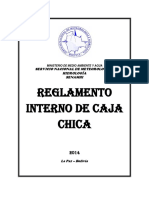 14 Reglamento Interno de Caja Chica Senamhi