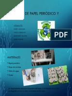 Reciclaje de papel periódico y revistas.pptx