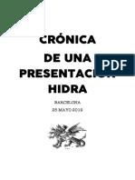 Crónica Hidra
