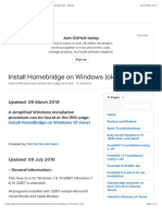 Homebridge inst