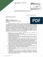 Proyecto de Ley  4185 sobre Gobernabilidad y Democracia