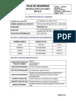 Msds Ultratrafic Ttp e Tipo II