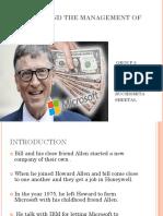 Case Study Bill Gates