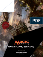 DnD 5e - Zendikar - Viagem Planar - Magic the Gathering