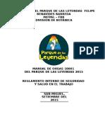 1.-Manual de Ohsas 18001 Parque de Leyendas