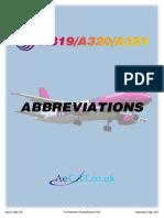 a320 - Abbreviations List - Iss-03 - May 2016