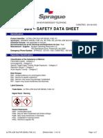 Ultra Low Sulfur Diesel Fuel 2 Sds