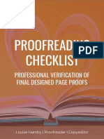 Proofreading Checklistaug2017