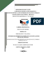 INFORME FINAL Perforacion y Voladura