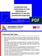 Coal Resources Estimation and Classification