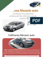 PREZENTARE CALIFICARE MECANIC AUTO