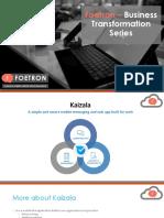 Foetron - Kaizala