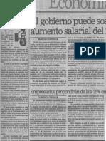 El Gobierno No Puede Sostener Aumento Salarial Del 20% - El Nacional 30.11.1989