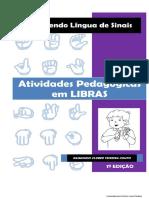 Aprendendo Língua de Sinais - Atividades Pedagógicas Em Libras (PDF)
