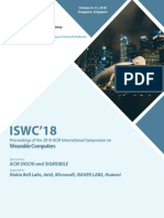 ISWC '18 Proceedings