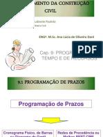 Cap 9 Programac3a7c3a3o de Tempo e de Recursos1