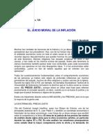 0023 Bendfeldt - Juicio Moral de La Inflacion