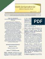 Boletín informativo Relatoría Sala de Casación Penal - 31 de mayo de 2019
