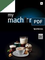 Cafetera Nespreso Modelo C-55-Umilk 1d Nespresso(en Fr Es Br)
