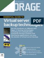 Virtual Server Backup Essential Guide