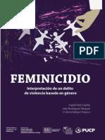 Feminicidio 2019