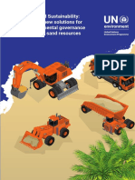 Sand and Sustainability UNEP 2019