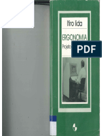 IIDA, Itiro. Ergonomia Projeto e Produção 1995