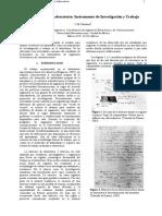 Bitacora o Cuaderno de Investigación