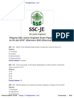 Download Ssc Junior Engineer Papers Electrical Engineering 24 Jan 2018 Afternoon Shift (1)