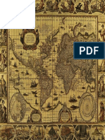 Old World Maps Here There Be Dragons